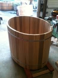 build an oval cedar hot tub