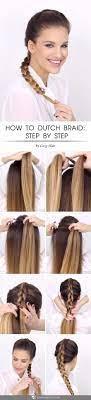useful tutorials on how to dutch braid