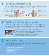 Norcold Refrigerators Recall Information Page