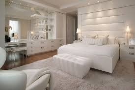 bedrooms with white furniture. 17. Luxury And Simplicity Bedrooms With White Furniture A