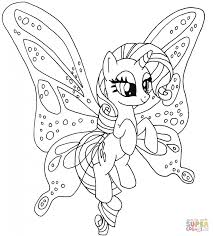 Small Picture Rarity Pony Download Cartoon Coloring Page Cartoon Fluttershy