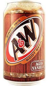 <b>Напиток газированный A&W Root</b> Beer Vanilla Корневое пиво с ...