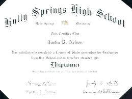 Fake Diploma Template Free Fake Diploma Template High School Diploma Template Free
