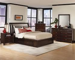 Distressed Bedroom Furniture Sets Distressed Cherry Finish Modern Bedroom Set W Options