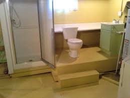 Bathroom  Pretty Small Basement Bathroom Ideas Inspire You - Bathroom in basement cost