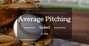 Youth Pitching Speed Chart Average Pitching Speed By Age The Planet Of Baseball