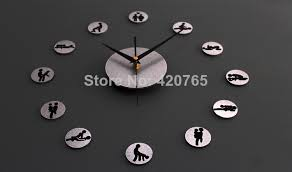 Small Picture clock girl Picture More Detailed Picture about Free shipping