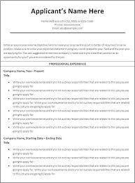 Reverse Chronological Resume Template Reverse Chronological Resume Unique Reverse Chronological Resume