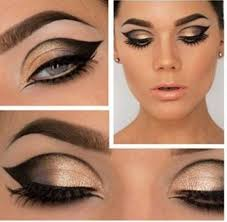 cat eye make up 1