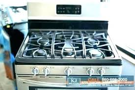 glass stove top cover flat 5 burner gas