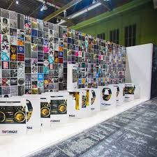 Art Exhibition Display Stands Temporary partitions Art Display Panels Exhibition Walls 66