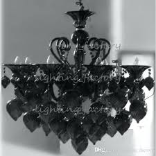 black glass chandelier 8 lights aqua blown glass chandelier black venetian glass chandelier