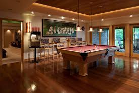 bistro tables and family room eclectic decorating ideas with pool table ceiling treatment amazing family room lighting
