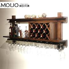 wood under cabinet wine glass rack wine rack and glass holder modern wine glass rack stunning wood under cabinet wine glass rack