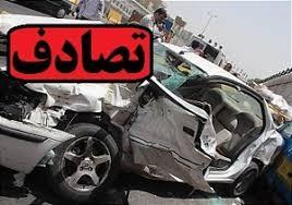 ۳ کشته و یک مجروح در تصادف جاده فسا-داراب