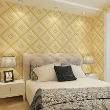 Urban House Design Vinyl Wall Panels Gold Accent Wall 3d Modern Diamond Pattern Pvc Vinyl