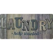 laundry help wanted wood panels 20 in x 42 in anti fatigue laundry