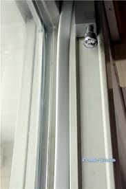 how to add weather stripping to a sliding glass door