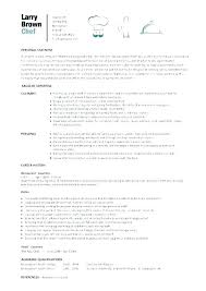 Cover Letter Sous Chef Executive Chef Sample Resume Sample Resume Of A Chef Chef