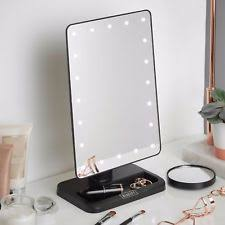 makeup mirror with lights. beautify makeup mirror led light vanity cosmetic illuminated magnifying black with lights