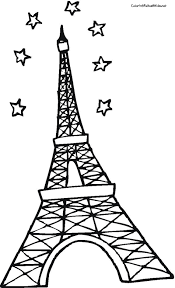 Small Picture Awesome Paris Eiffel Tower Coloring Pages Ideas Coloring Page