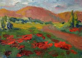 tuscany painting tuscan countryside by martha layton smith