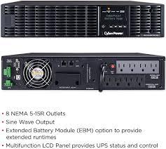 CyberPower OL1000RTXL2U Smart App Online UPS ... - Amazon.com