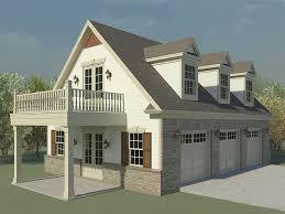 loft garage. garage loft plan, 006g-0124 f