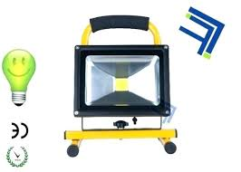 battery operated flood light battery powered flood light portable battery powered led work light rechargeable led battery operated flood light