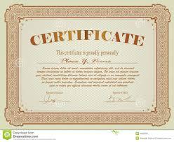 certificate template royalty stock photography image  certificate template
