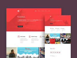 Free Psd Website Templates Delectable 28 Elegant Free One Page PSD Website Templates UTemplates