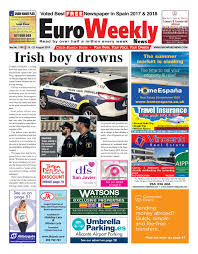 Euro Weekly News Costa Blanca South 15 21 August 2019