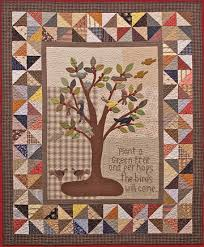 Tree Quilt Patterns Beauteous The Bird Tree Quilt Project Timeless Traditions Quilts By Norma Whaley