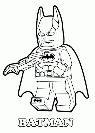 Small Picture Printable Coloring Pages Lego Batman Coloring Pages