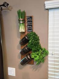 beautiful looking succulent wall decor room decorating ideas vertical garden indoor herb planter mason jar artificial decoration faux