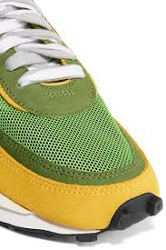 Nike Sacai Ldv Waffle Daybreak Mesh Suede And Leather