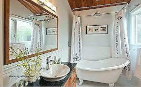 clawfoot bathtub shower curtain shower curtain rod