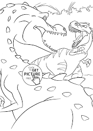 Small Picture Dinosaurs coloring pages Archives Coloring 4kidscom