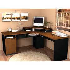 shaped computer desk office depot. Winsome Standing Computer Desk Office Depot Pc Corner Home With Hutch Shaped E