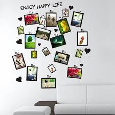 modern style diy creative original design black photo frame wall stickers decor home room office aliexpresscom buy office decoration diy wall