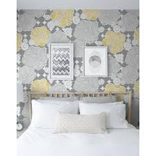 NextWall 30.75-sq ft Yellow and Grey ...