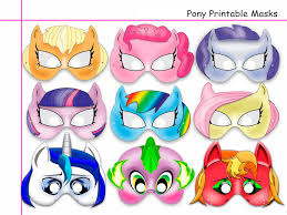 Small Picture Unique Pony Printable Masks party mask girl party birthday