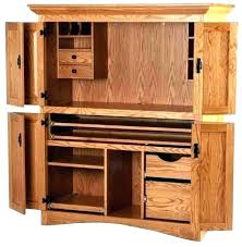 contemporary computer armoire desk computer armoire. Corner Computer Armoire Desk With Doors Contemporary