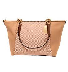 Coach F57246 AVA Tote Beechwood Light Gold