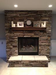Brick Fireplace Remodel Ideas Our New Brick Fireplace Decorated Fireplace Mantel Brick