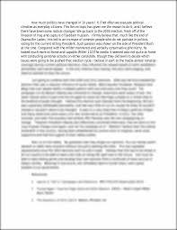 politics essay to kill a mockingbird sample essay deception essay  week forum essay how much politics have changed in years week 2 forum essay how much