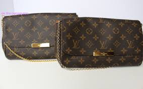 louis vuitton purse. as you can see the replica on left side has a nice sheen to it like authentic louis vuitton purses while bag right is more dull. purse