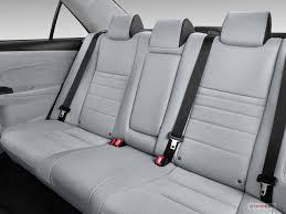 2016 toyota camry hybrid rear seat