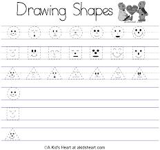 Kindergarten Free Printable Worksheets | Lesson: Colour & Shapes ...
