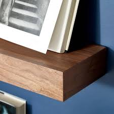 Walnut Floating Shelves  &  &  &  &. Roll over to zoom